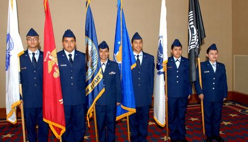AFJROTC earns Distinguished Unit with Merit honors