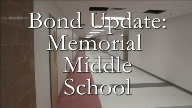 Bond Update on the New Memorial Middle School