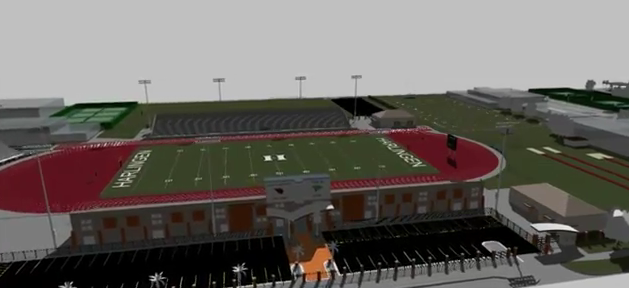 Plans for Boggus Stadium Complex released