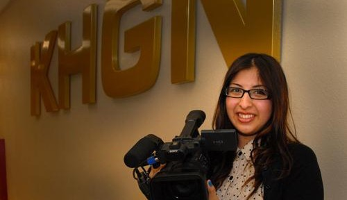 Ambitious senior prepares for career in video editing