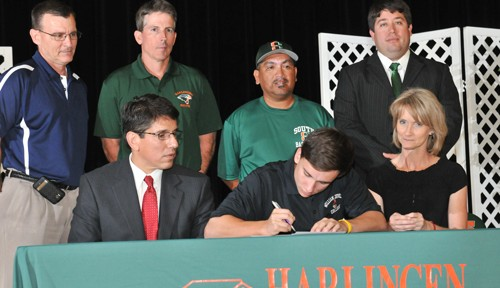 Hawk baseball player set to soar at next level