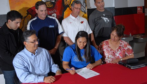 Cardinal catcher signs with TAMUK