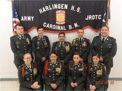 """Cardinal JROTC Army Battalion Earns """"Honor Unit with Distinction Award"""
