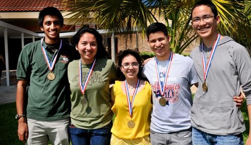 Hawks bring five medals home from UIL academic competition