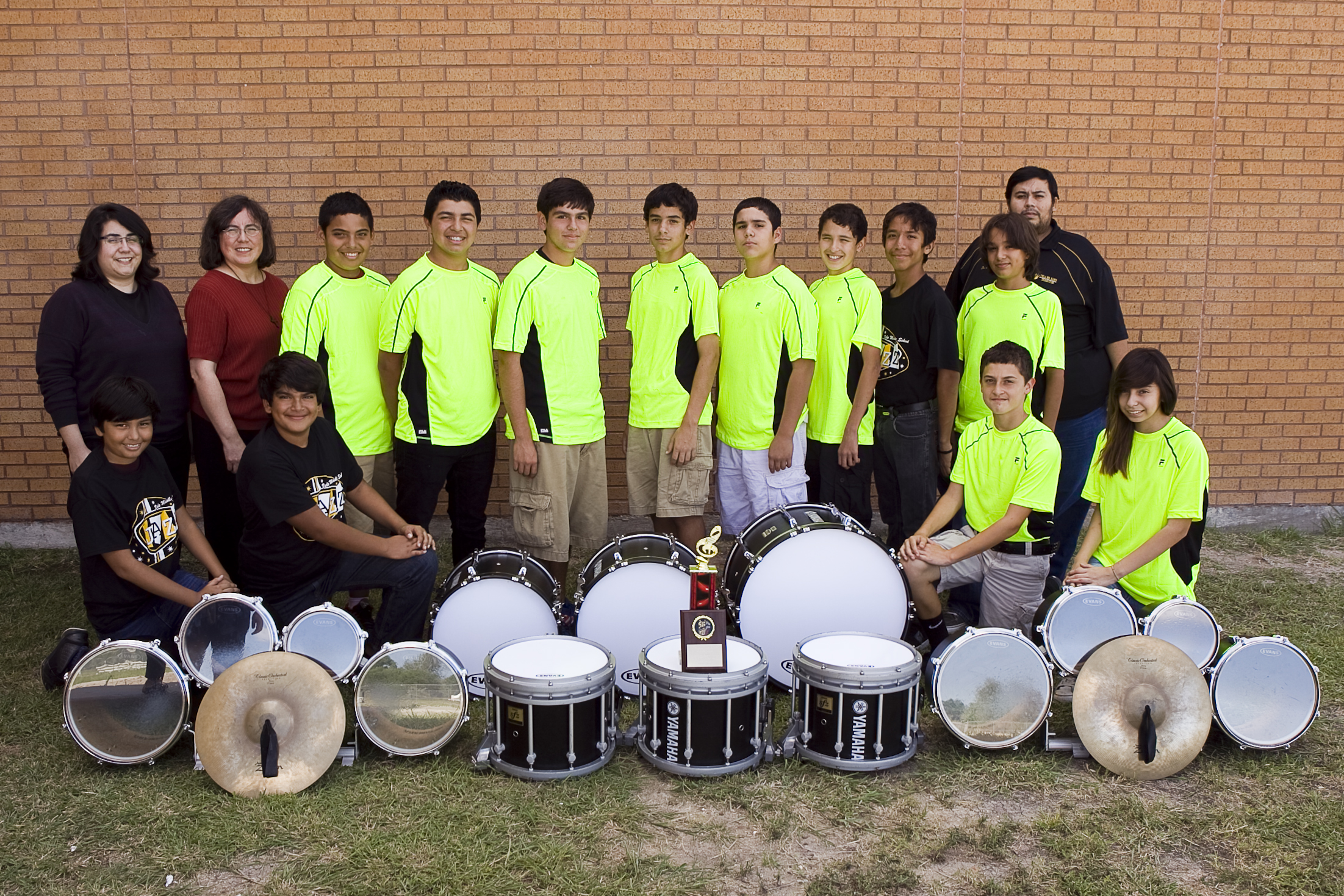 Vela Middle School drumline named Grand Champion at competition