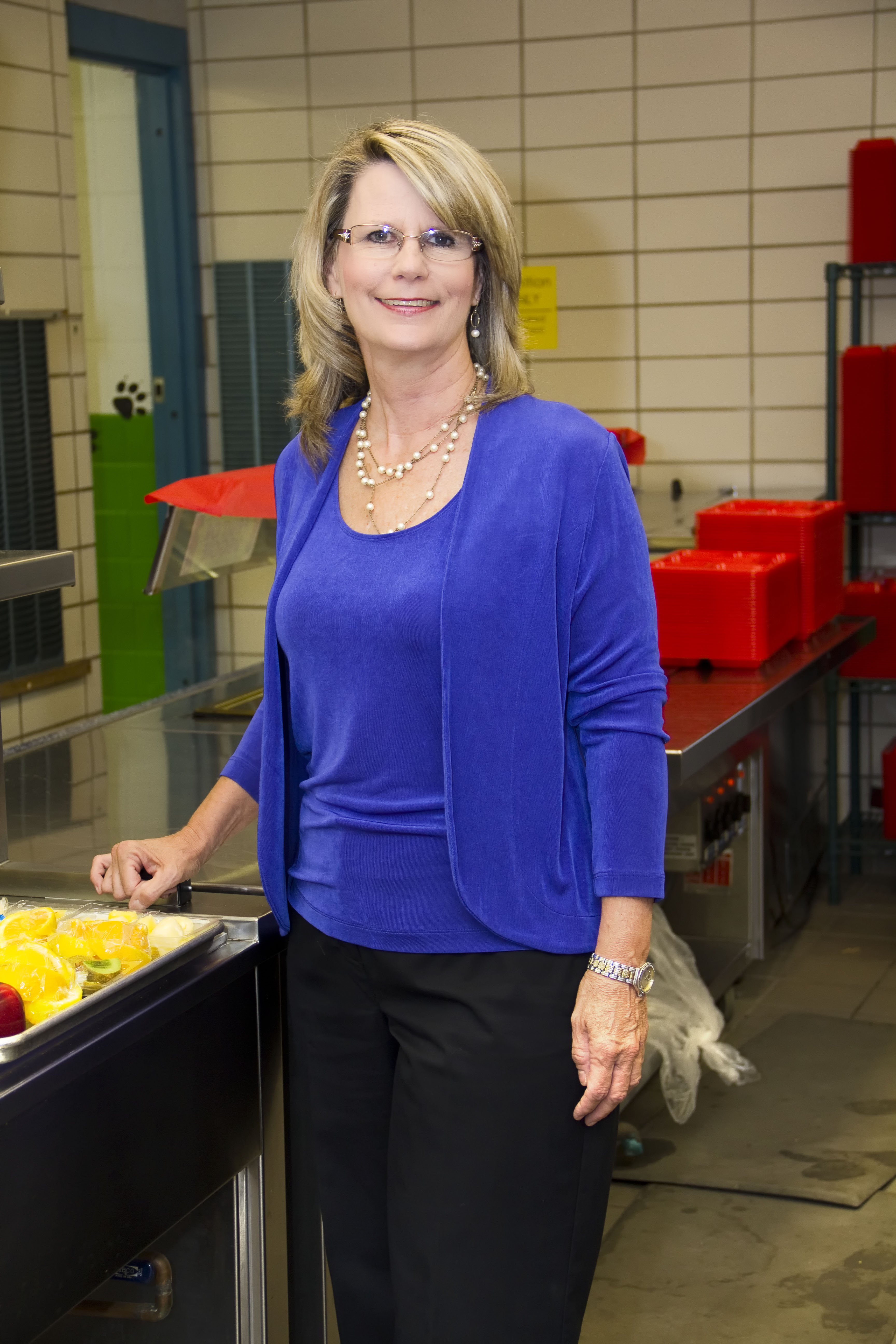 Person of the week: Baker prepares students for knowledge with a good meal