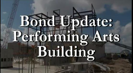 Bond Update Performing Arts Building