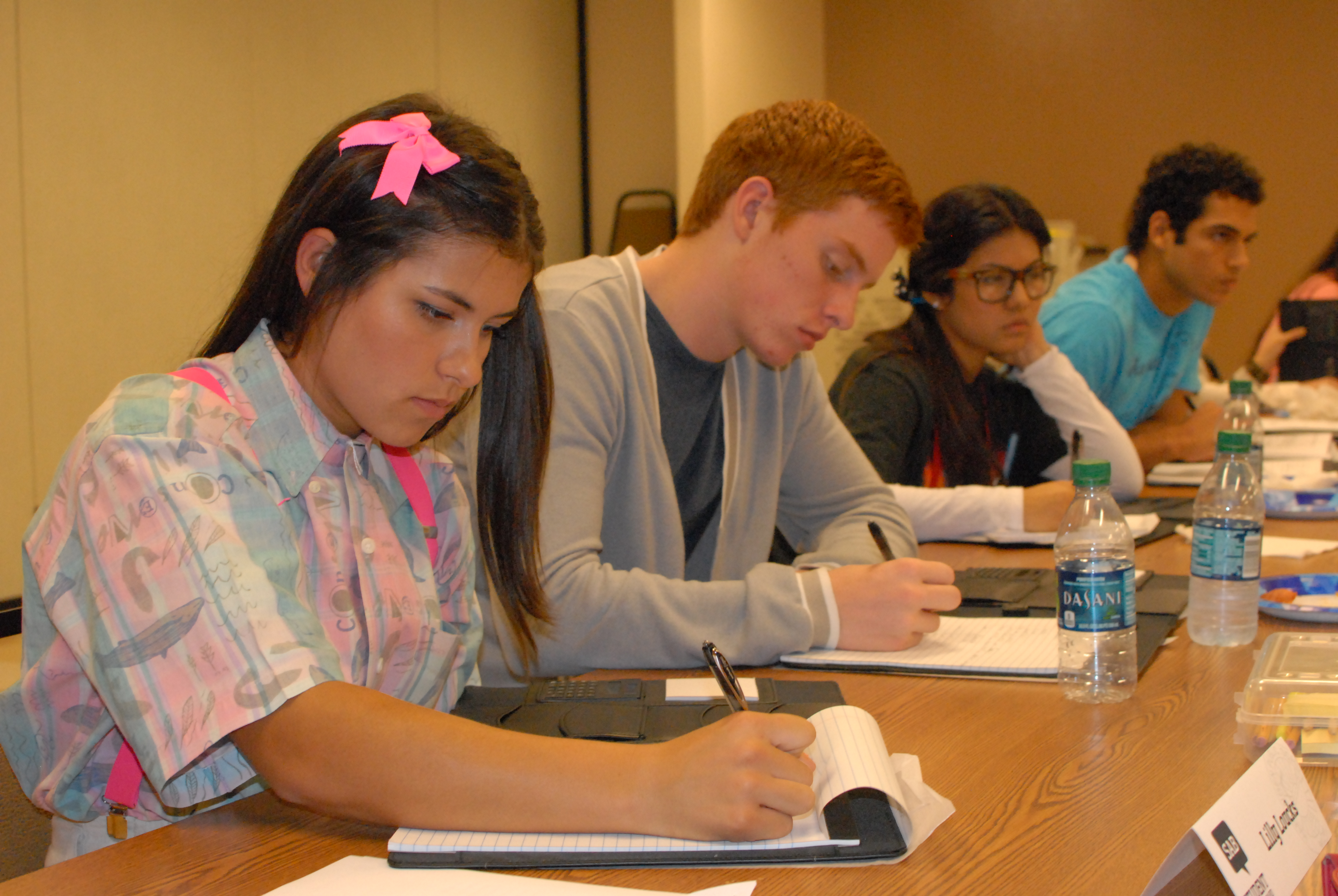 Student Advisory Board meets for advancement