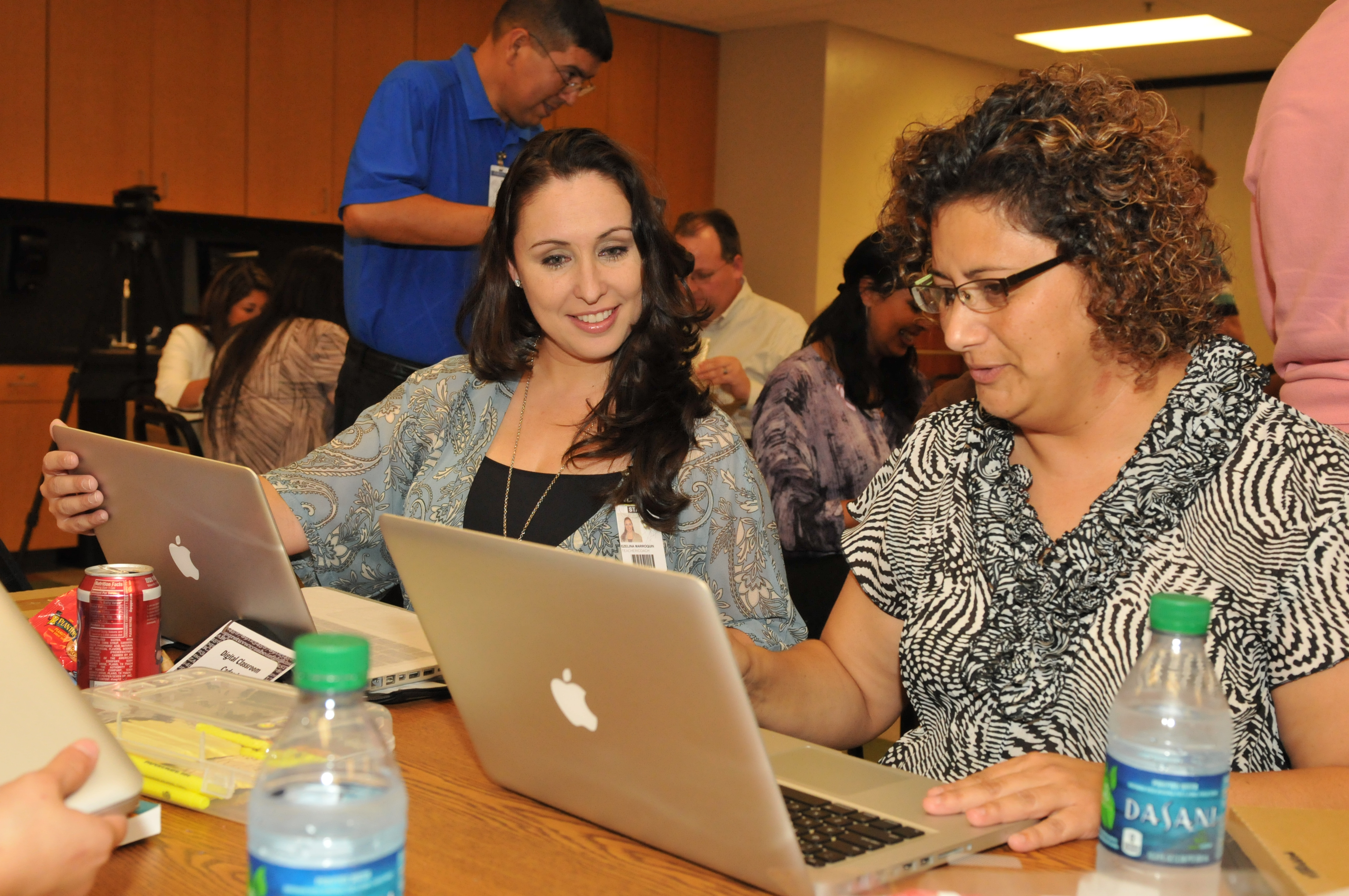 Educators receive new technology for the classroom