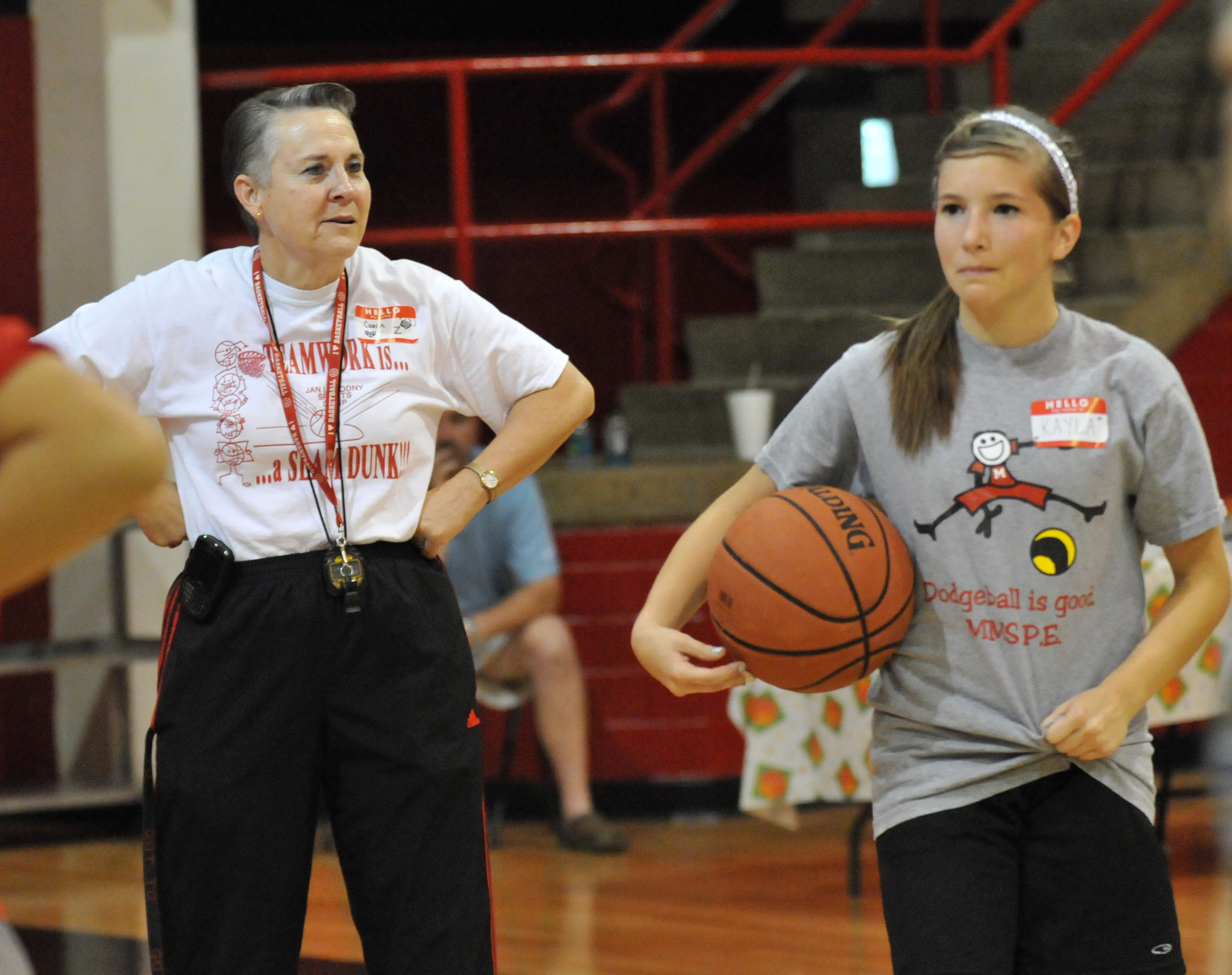 HHS girls' basketball coach selected as Region Junior Director of coaches association