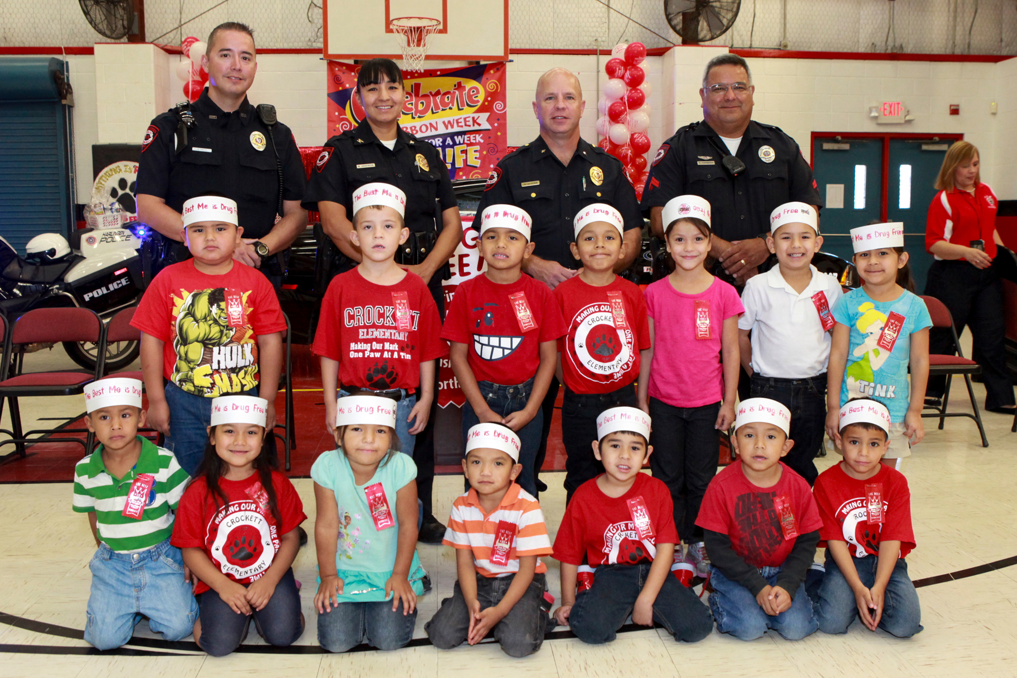 HCISD comes together to celebrate Red Ribbon Week 2012