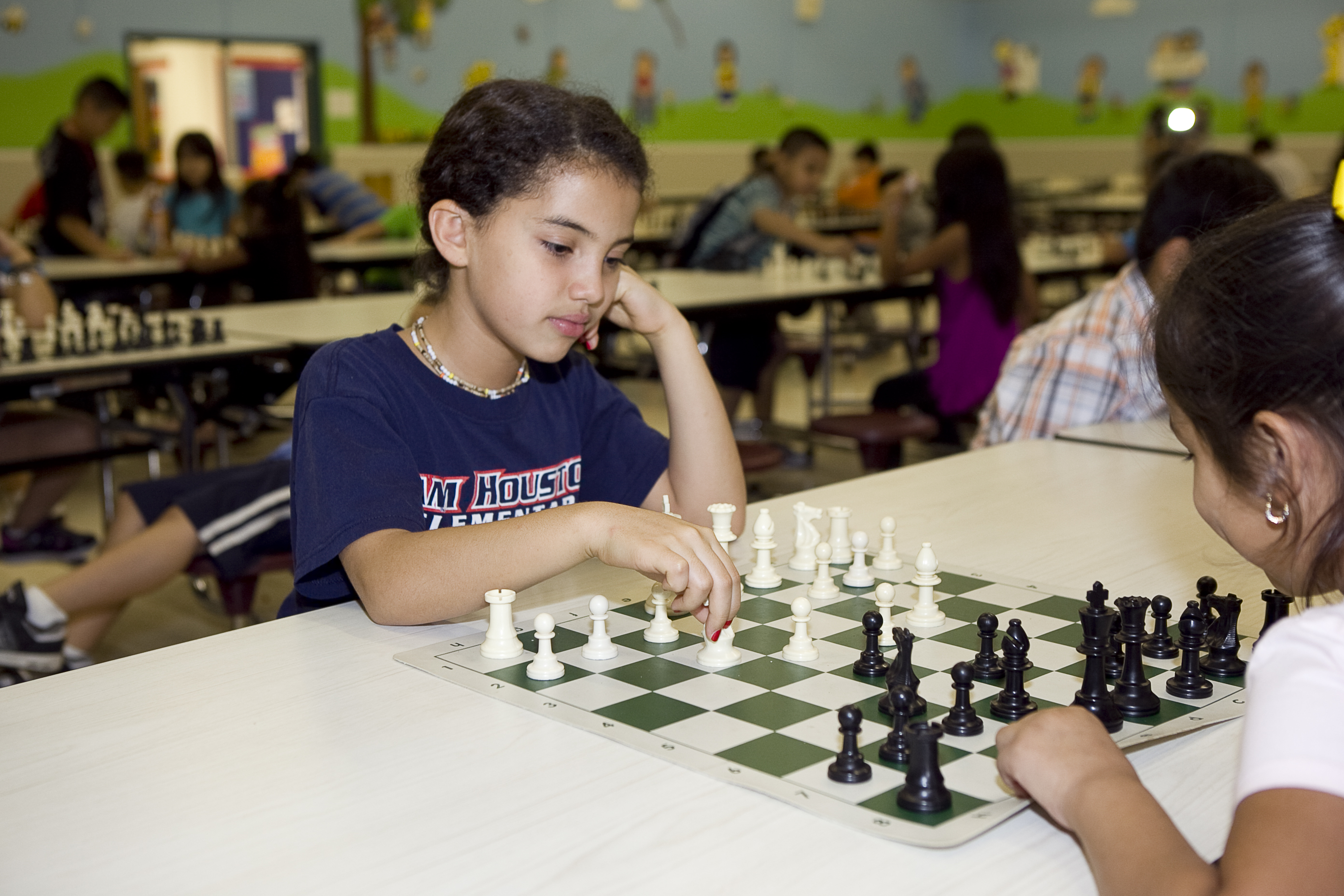 HCISD chess teams awarded at district's first tournament