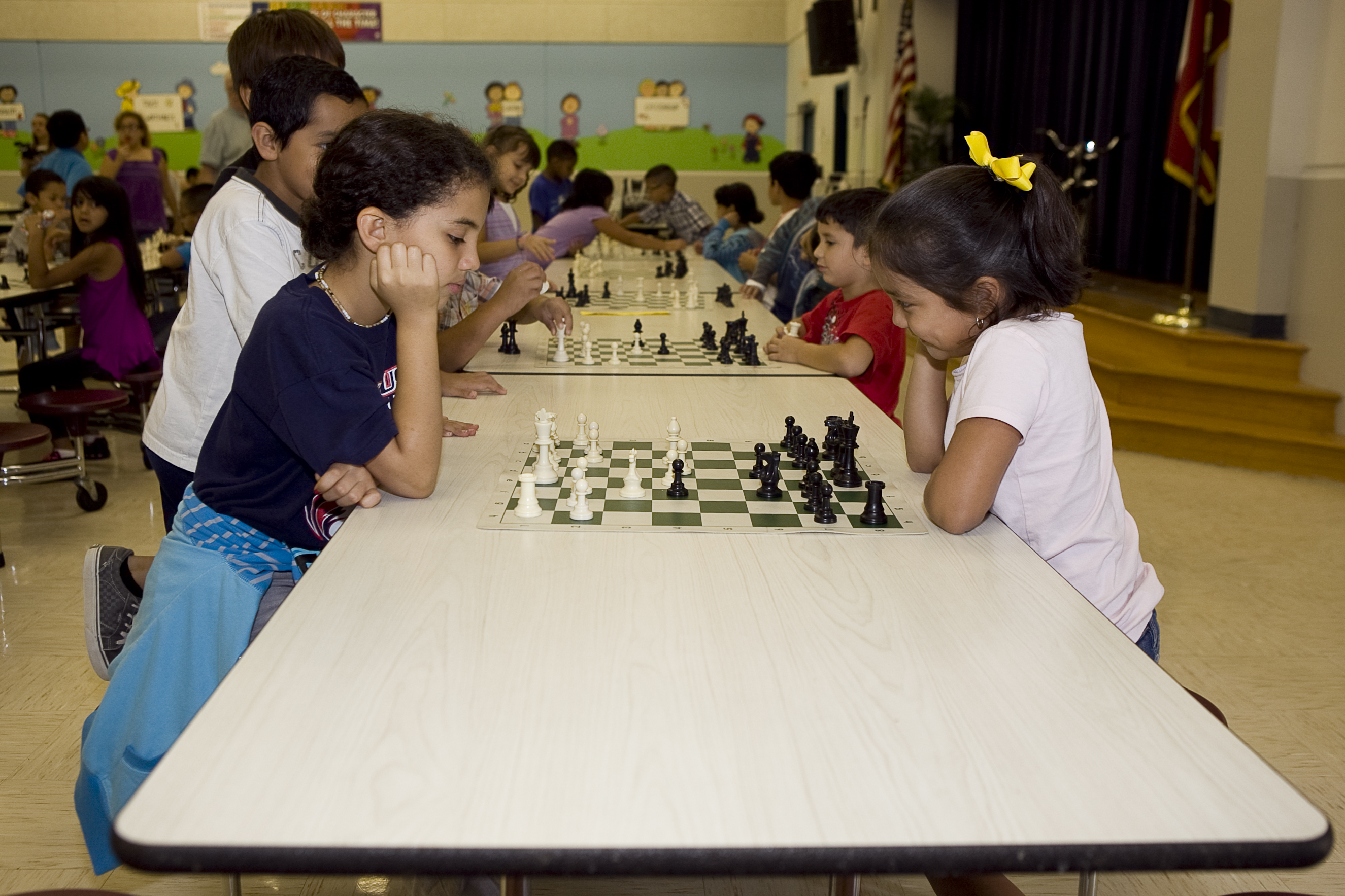 Sam Houston Elementary hosts first chess tournament for HCISD