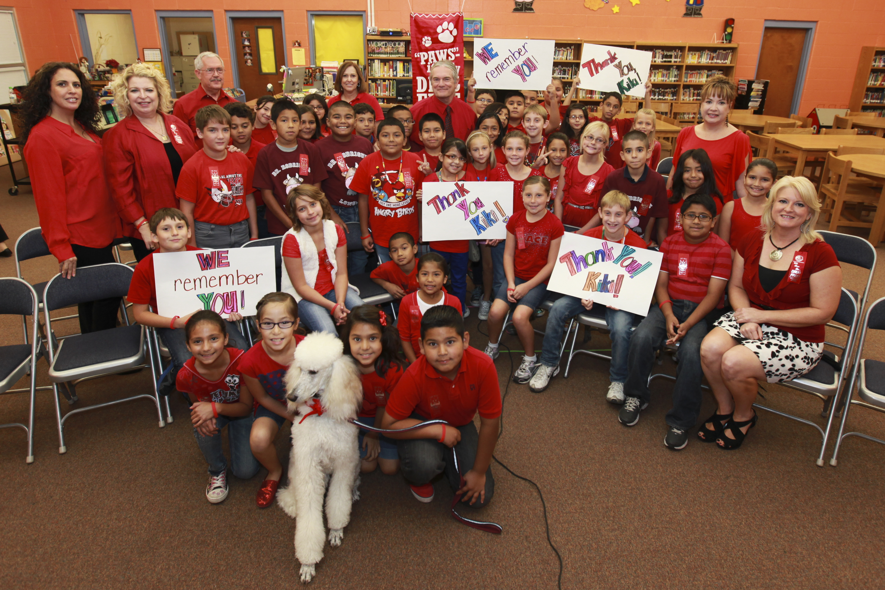 Rodriguez celebrates Red Ribbon Week with students across Texas