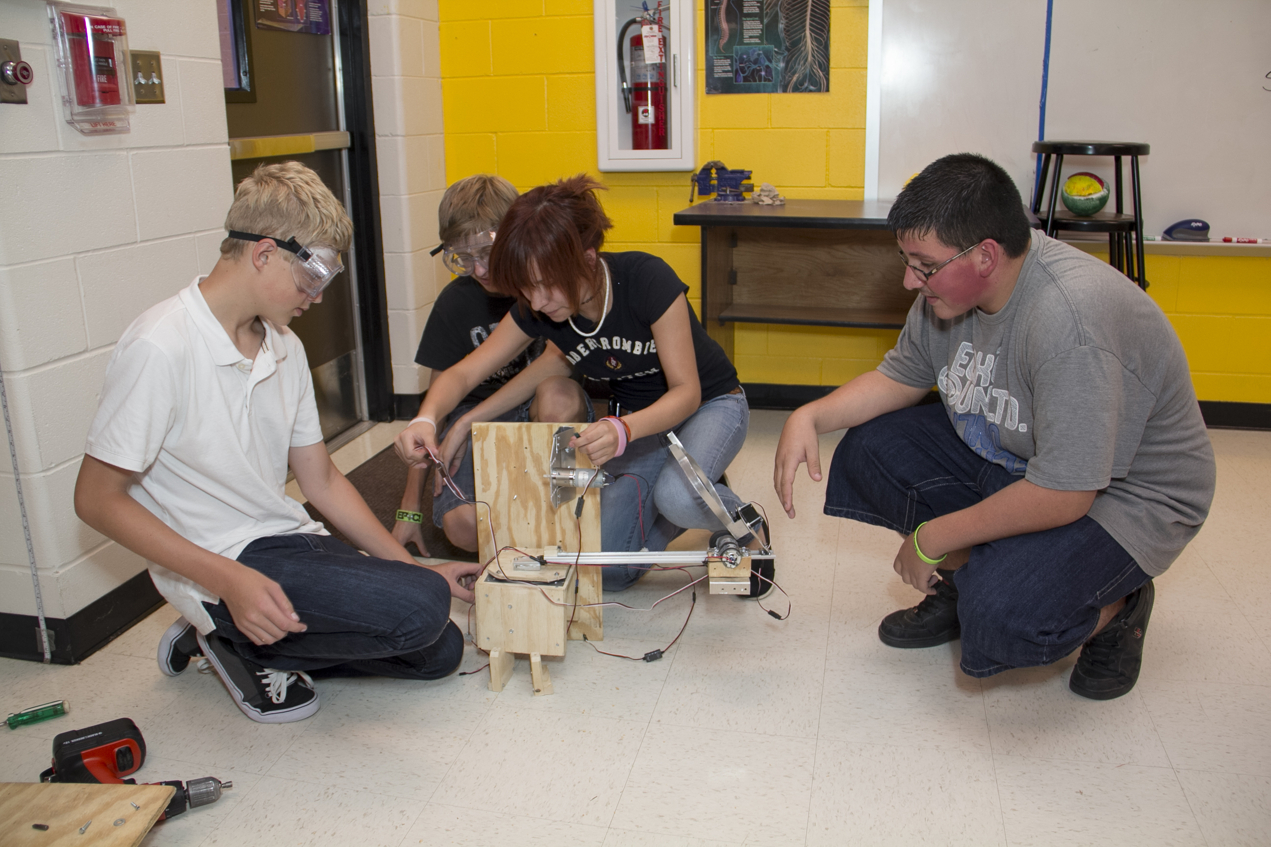 Robot of the day: Meet ECHS' robot Neil 2.0