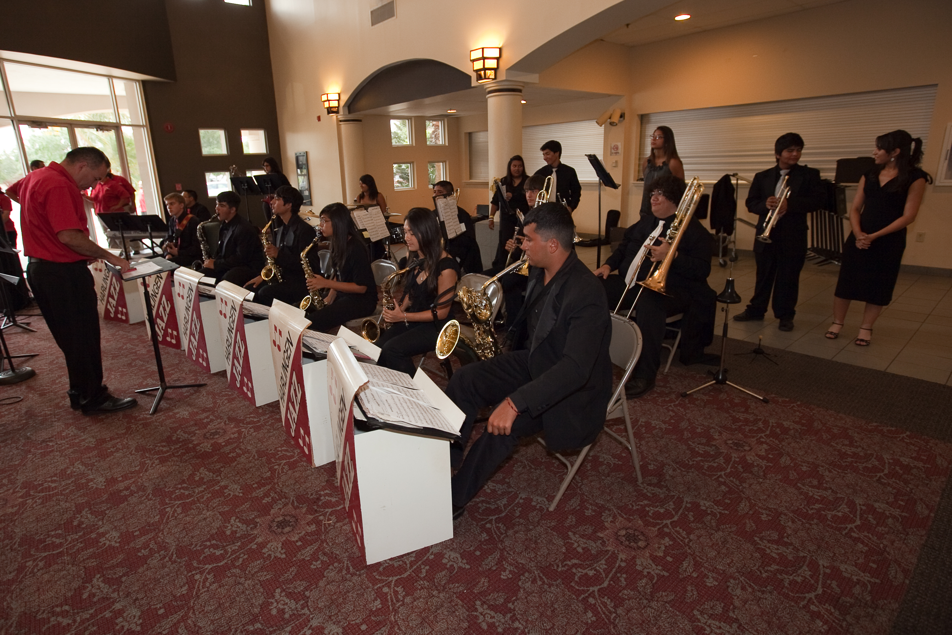 HHS and HHSS Jazz Bands awarded at Region 28 Jazz Band auditions