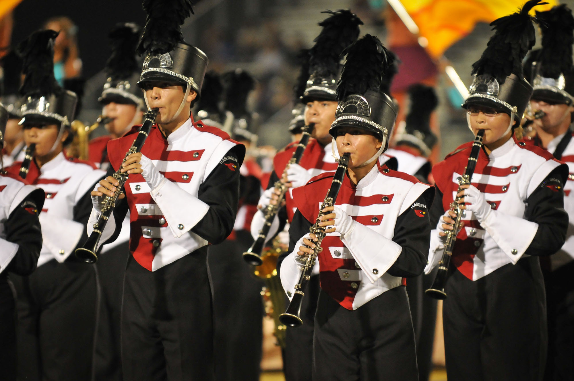 HHS and HHSS Marching Bands compete in UIL Area Marching Contest
