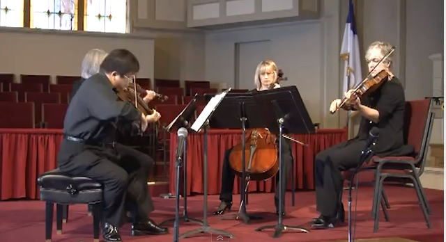 Wyeth String Quartet Performing For HCISD
