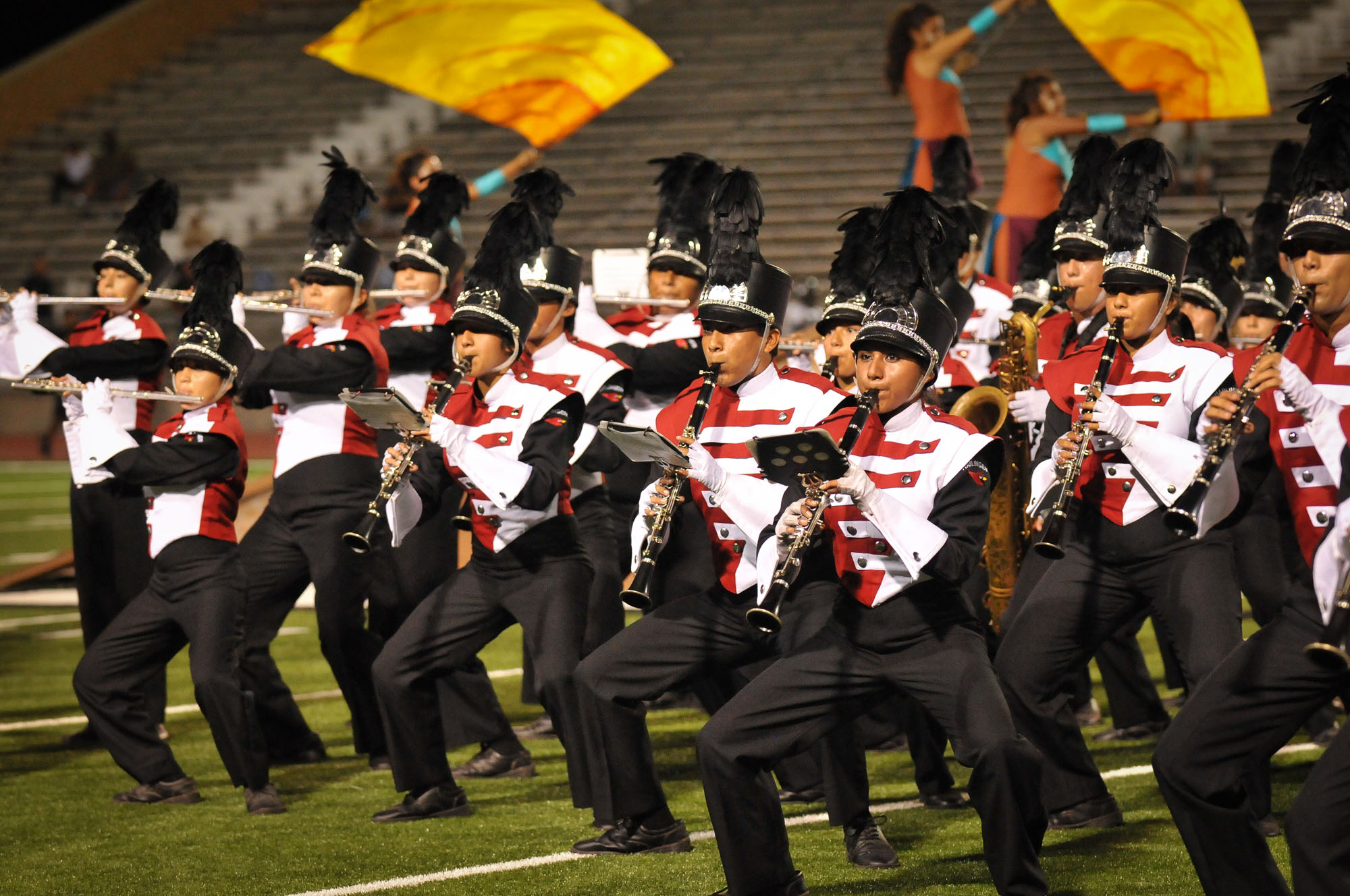 HHS and HHSS Marching Bands awarded at Pre-Pigskin Jubilee
