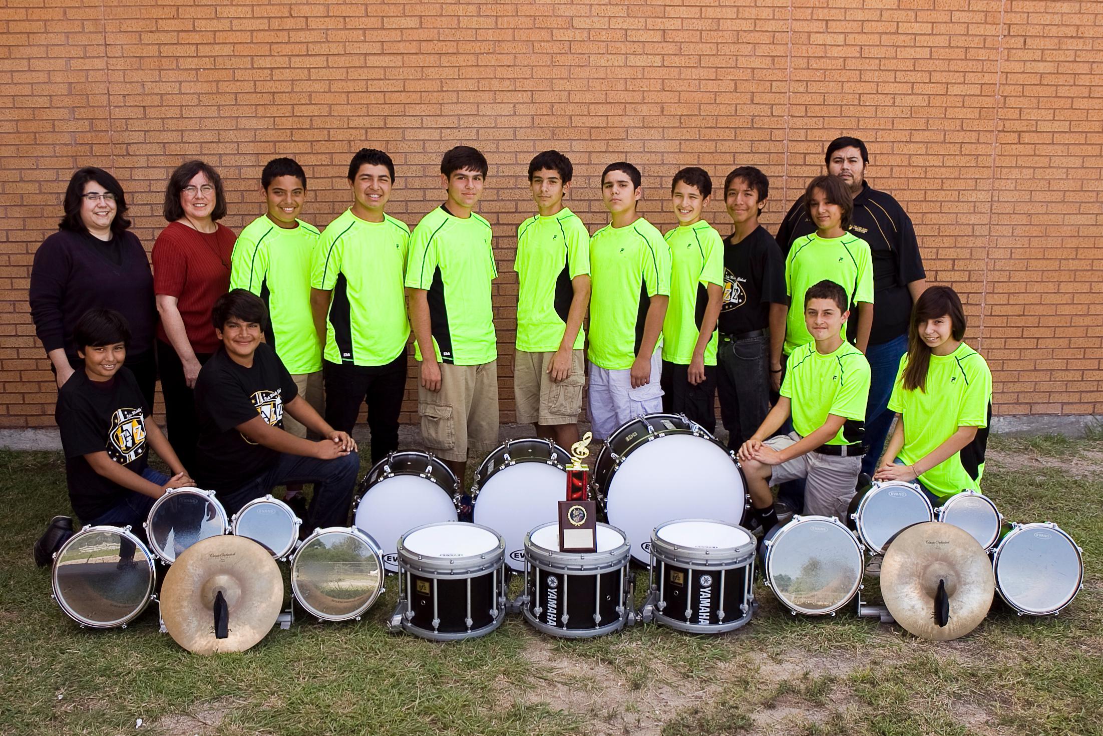 Vela Drumline Champions