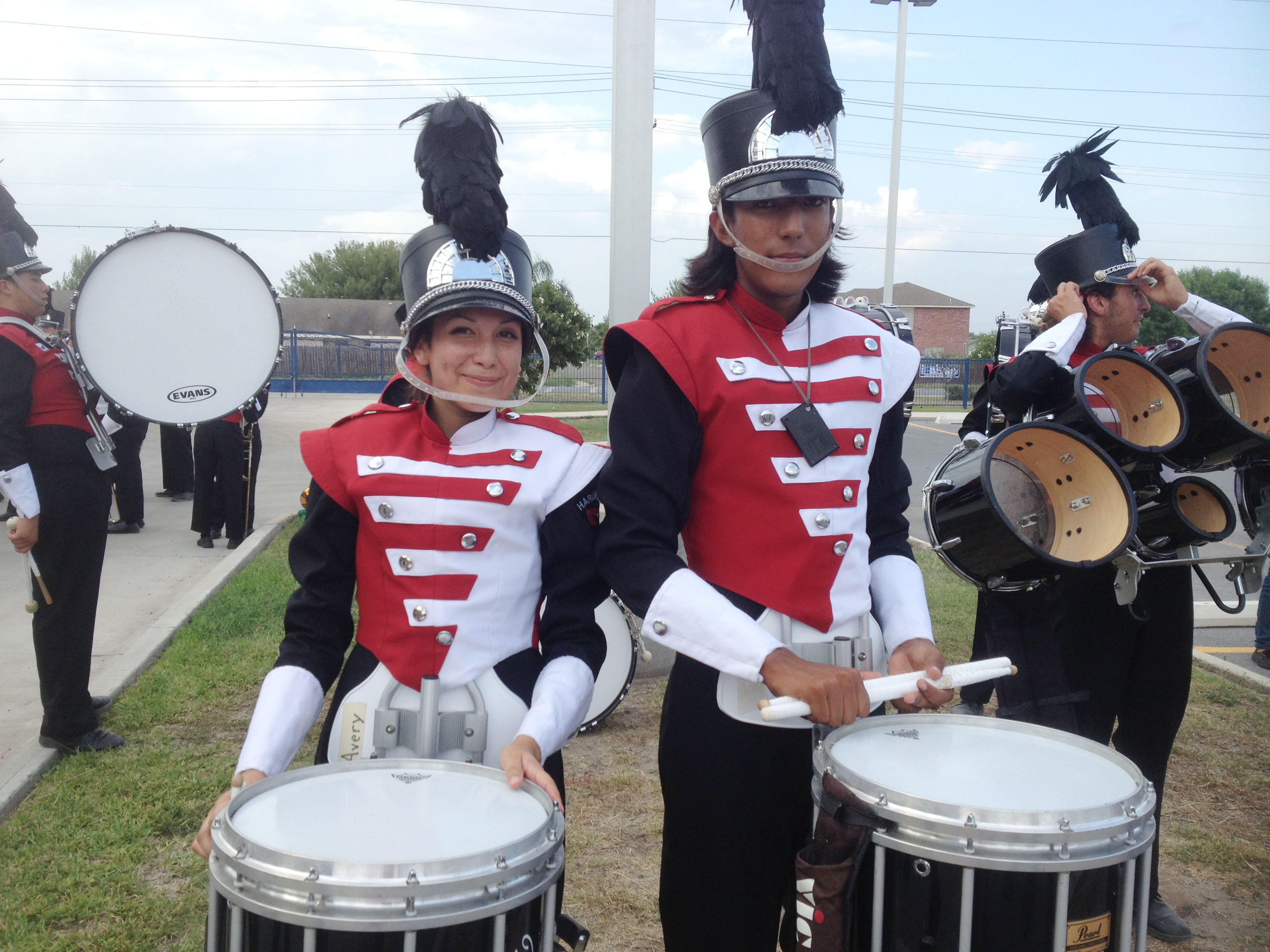 HHS marching band earns top prize at two competitions