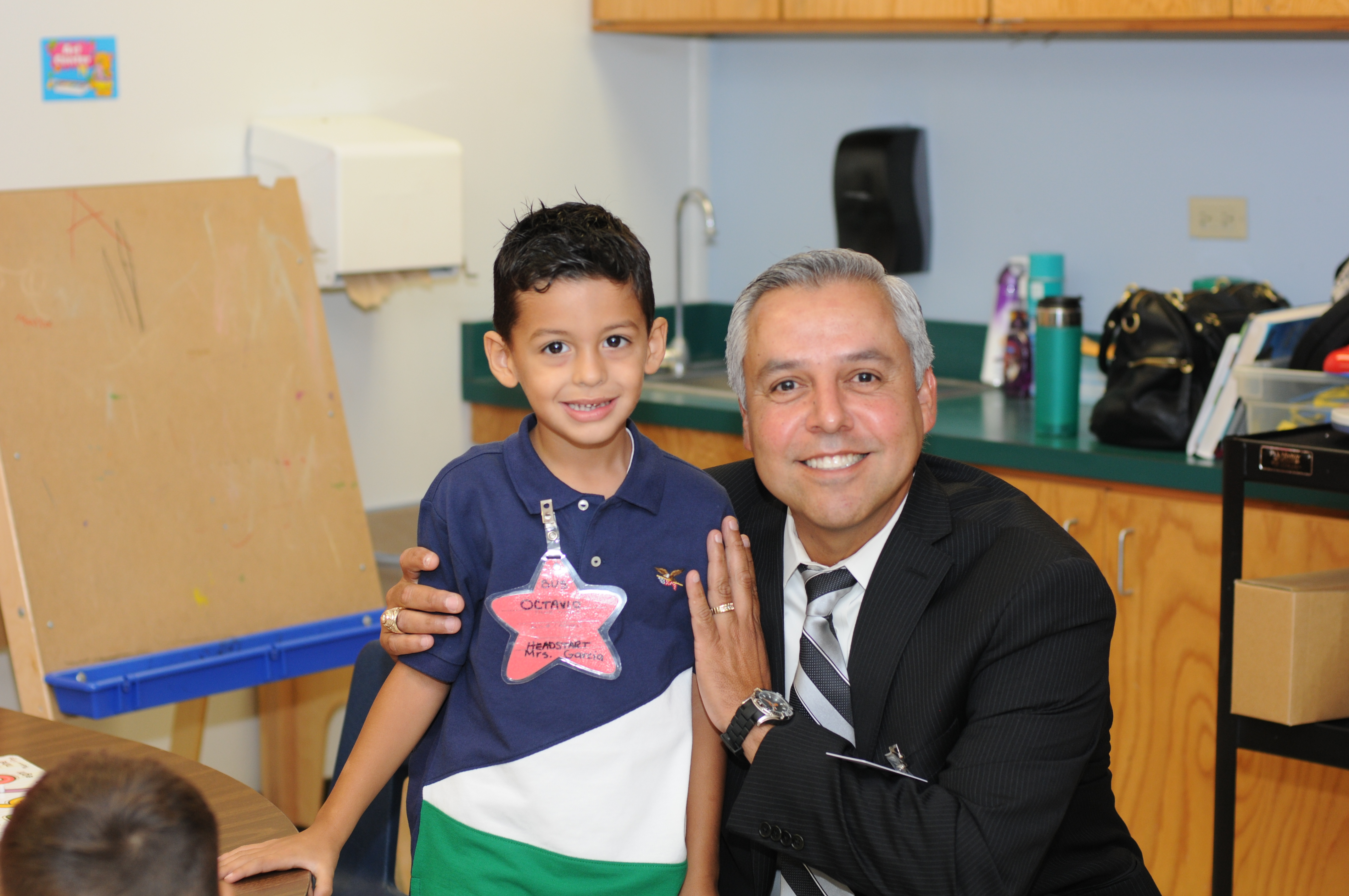Dr. Cavazos Visit for Milam Elementary
