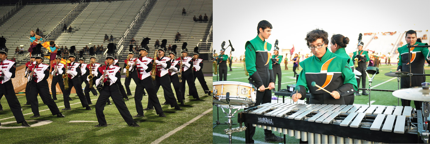 HHS and HHSS Marching Bands get ready for state competition