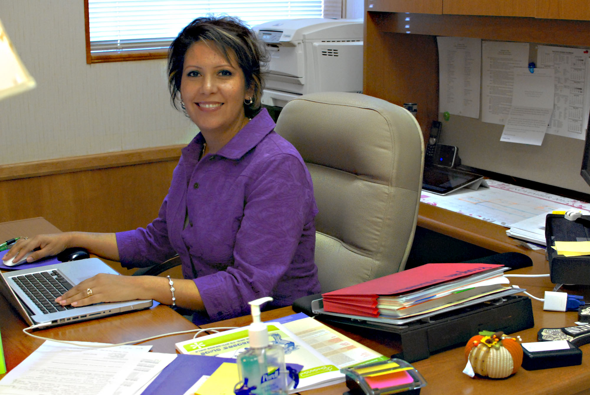 Person of the week: Saenz writes for HCISD's future