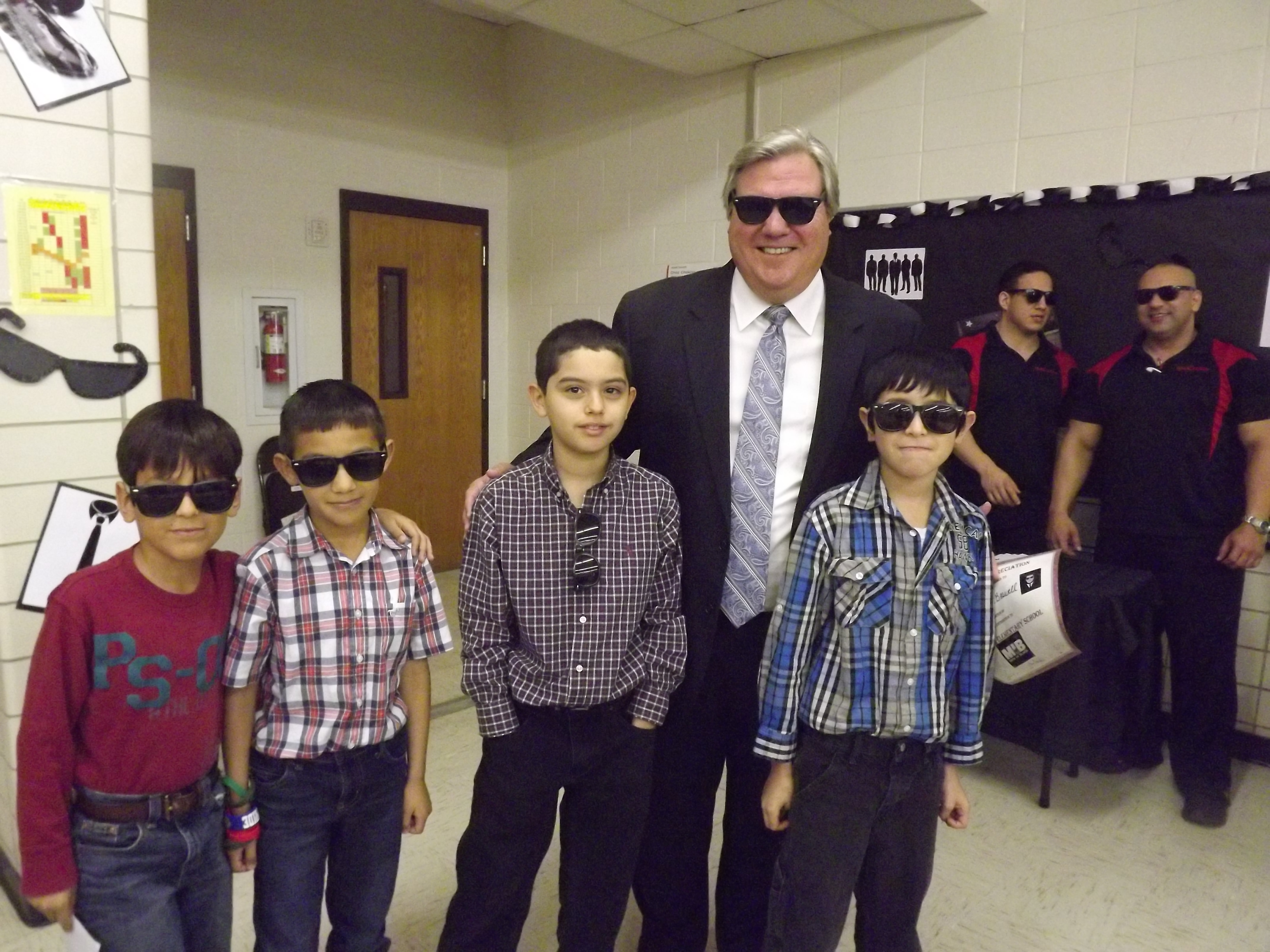 Ben Milam students dress to impress at career day