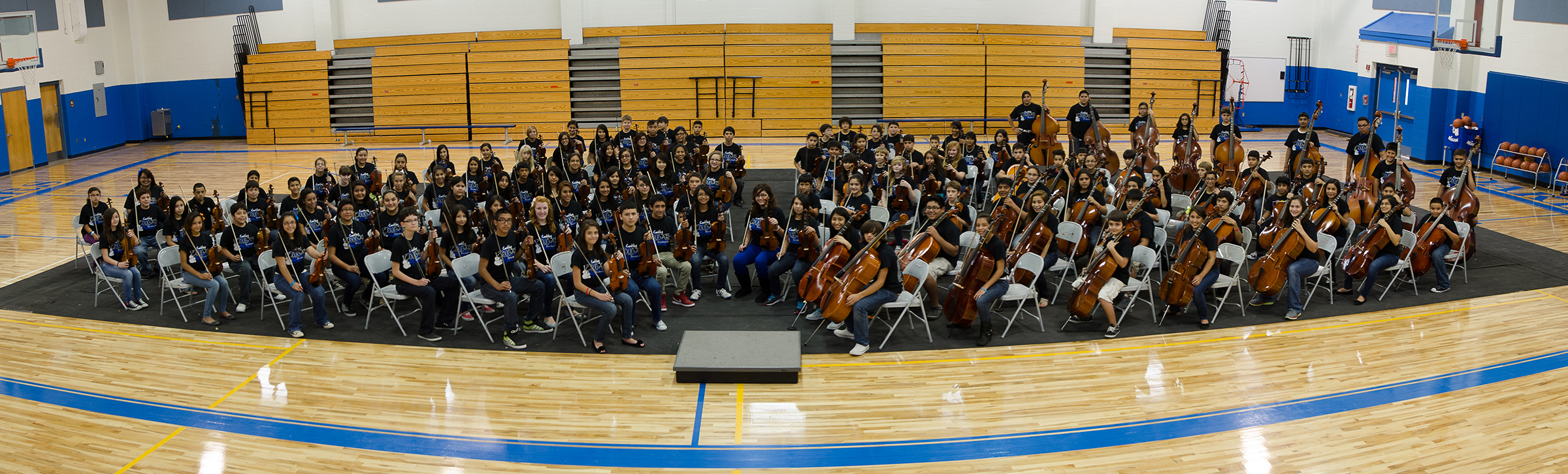 Orchestra program finds its place in HCISD middle schools
