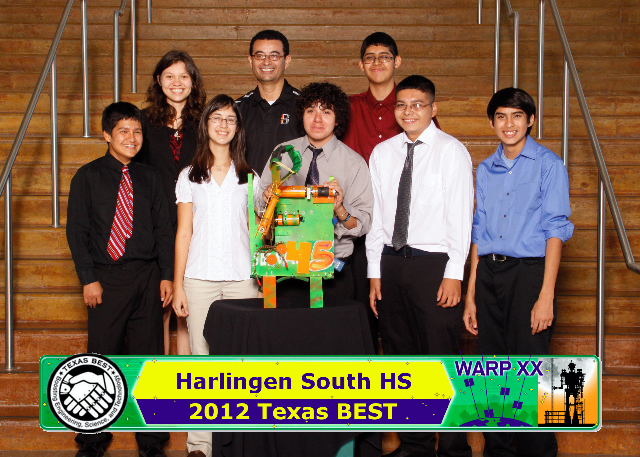 HHSS Robotics Team finishes strong at region competition
