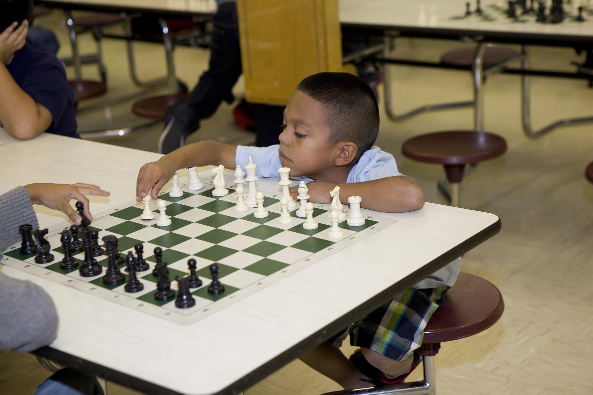 Sam Houston leaves impression at chess tournament