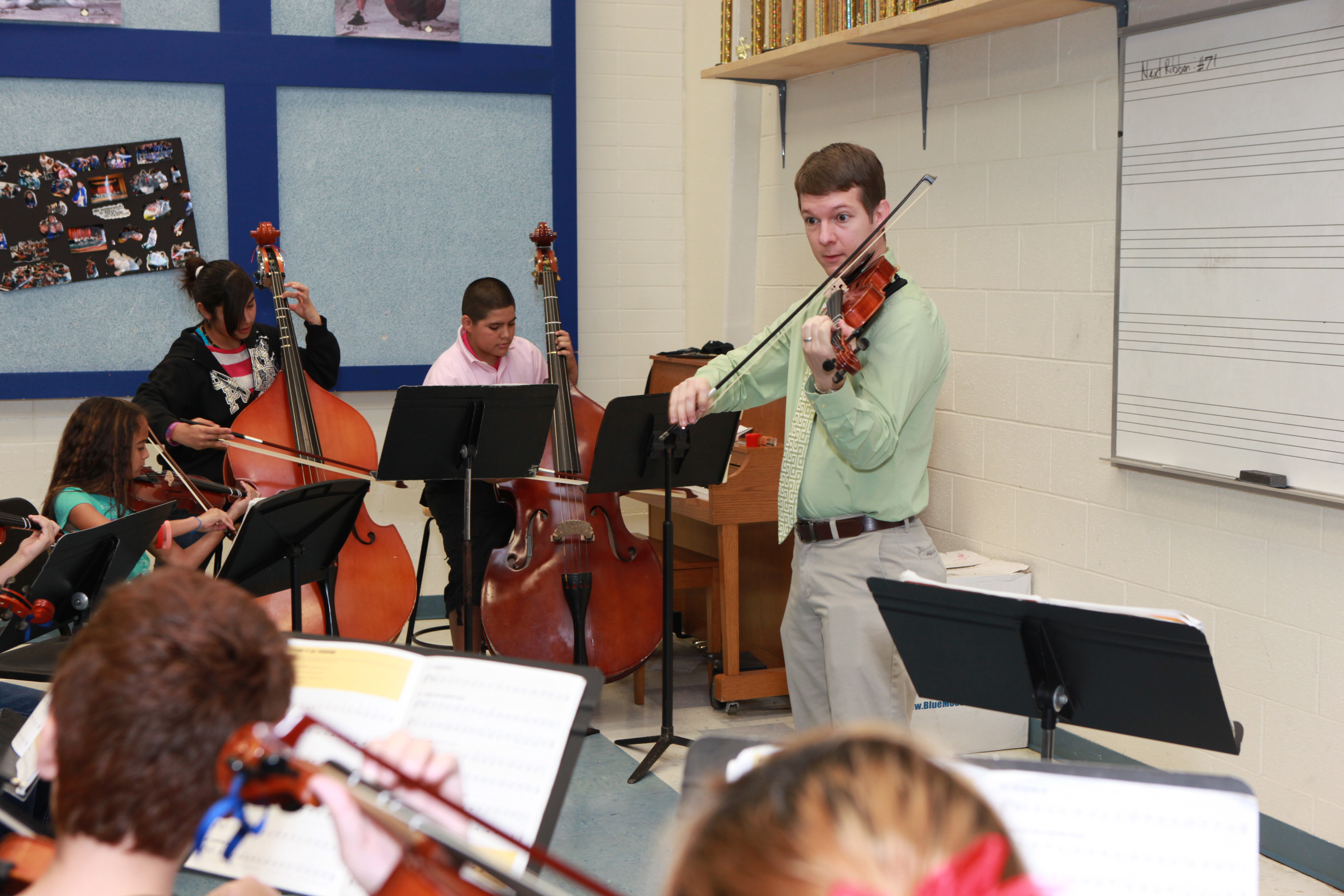 Person of the Week: Hooper hits the right note at HCISD