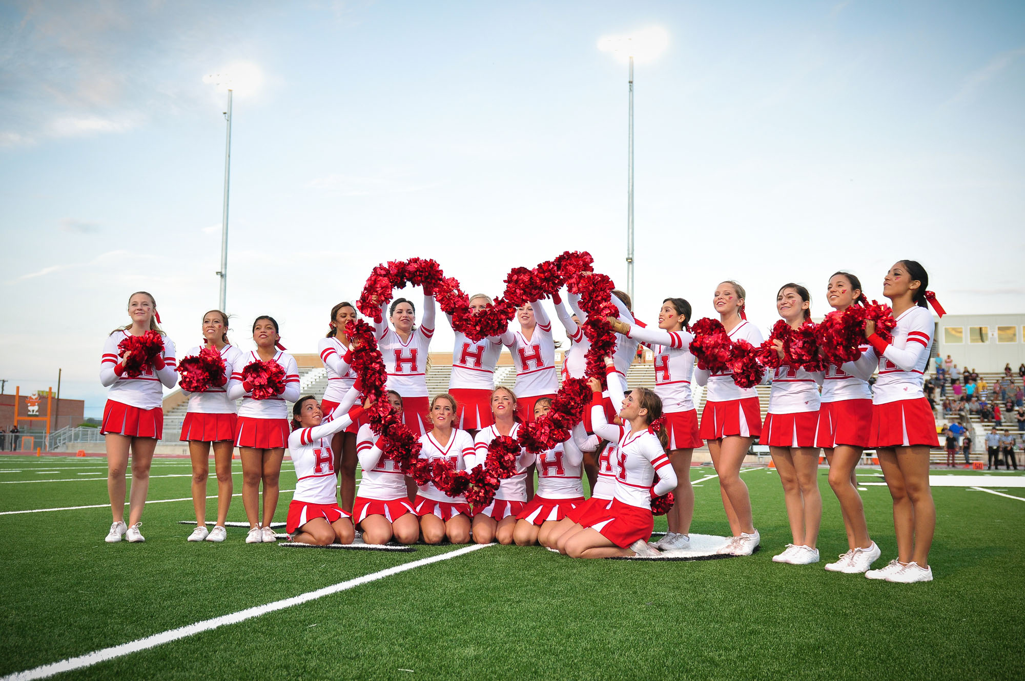 HHS Cheerleaders perform at Macy's Thanksgiving Day Parade