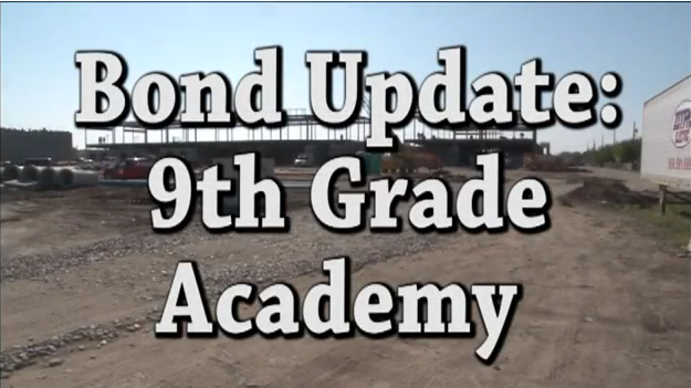 Bond Update on the 9th Grade Academy