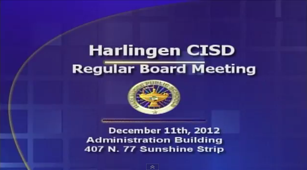 December Board Meeting