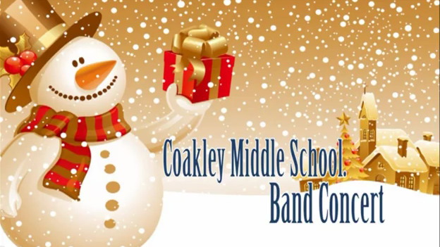 Coakley Band Christmas Concert