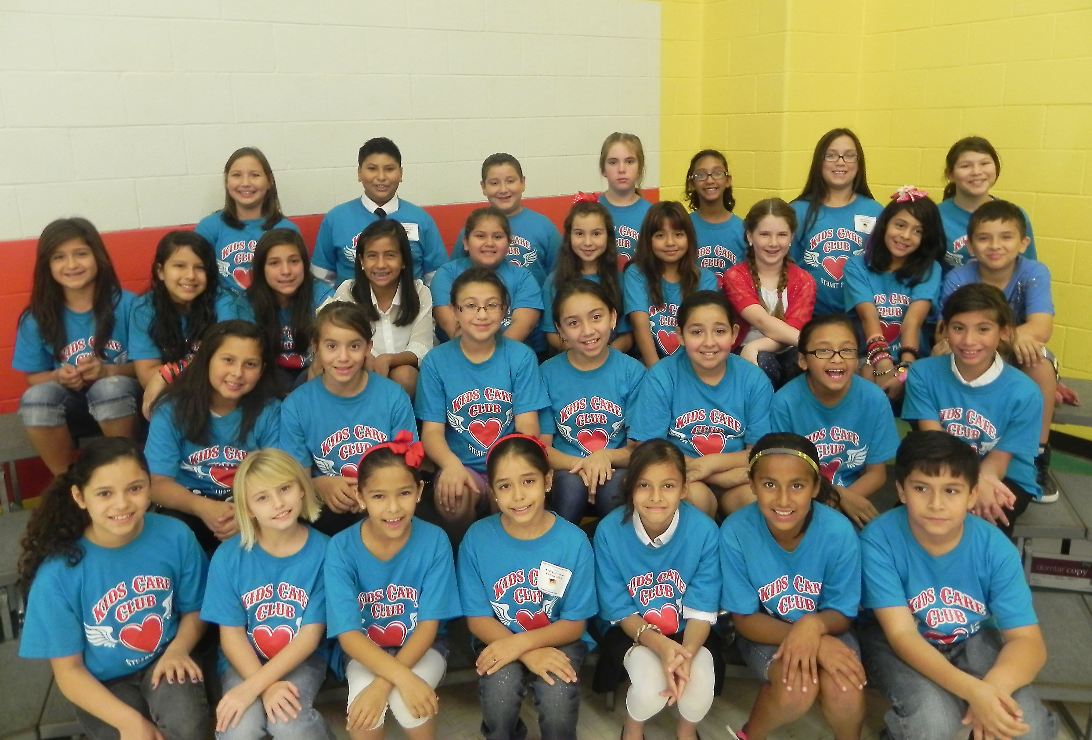 Stuart Place Kids Care Club gives back to campus and community