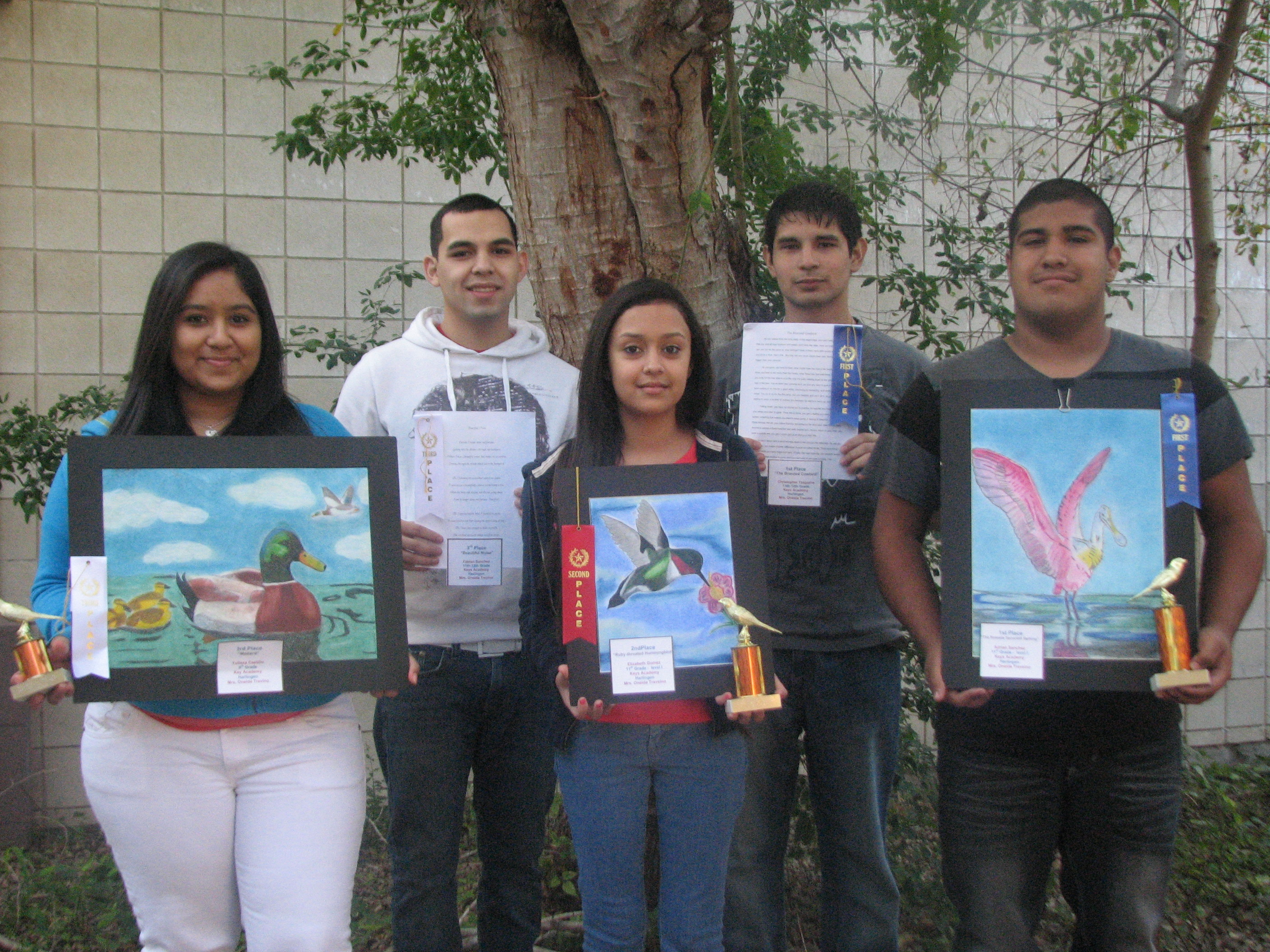 KEYS students take top honors at RGV Birding Festival