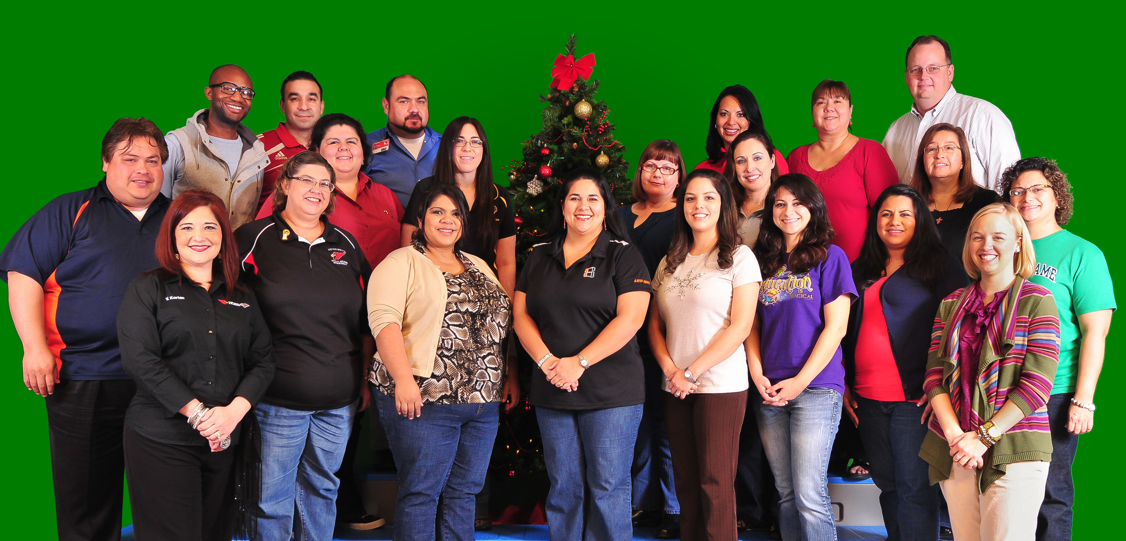 Digital classroom instructors ring in the holiday with educational advancement