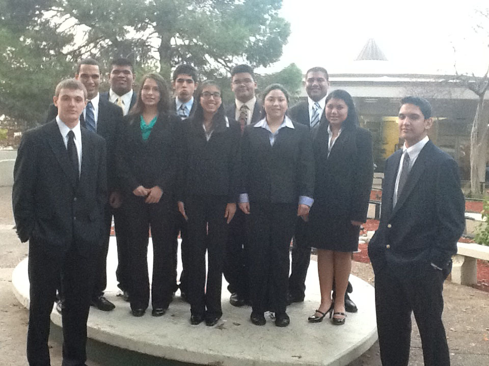 HHSS decathlon team has strong performance at academic competition