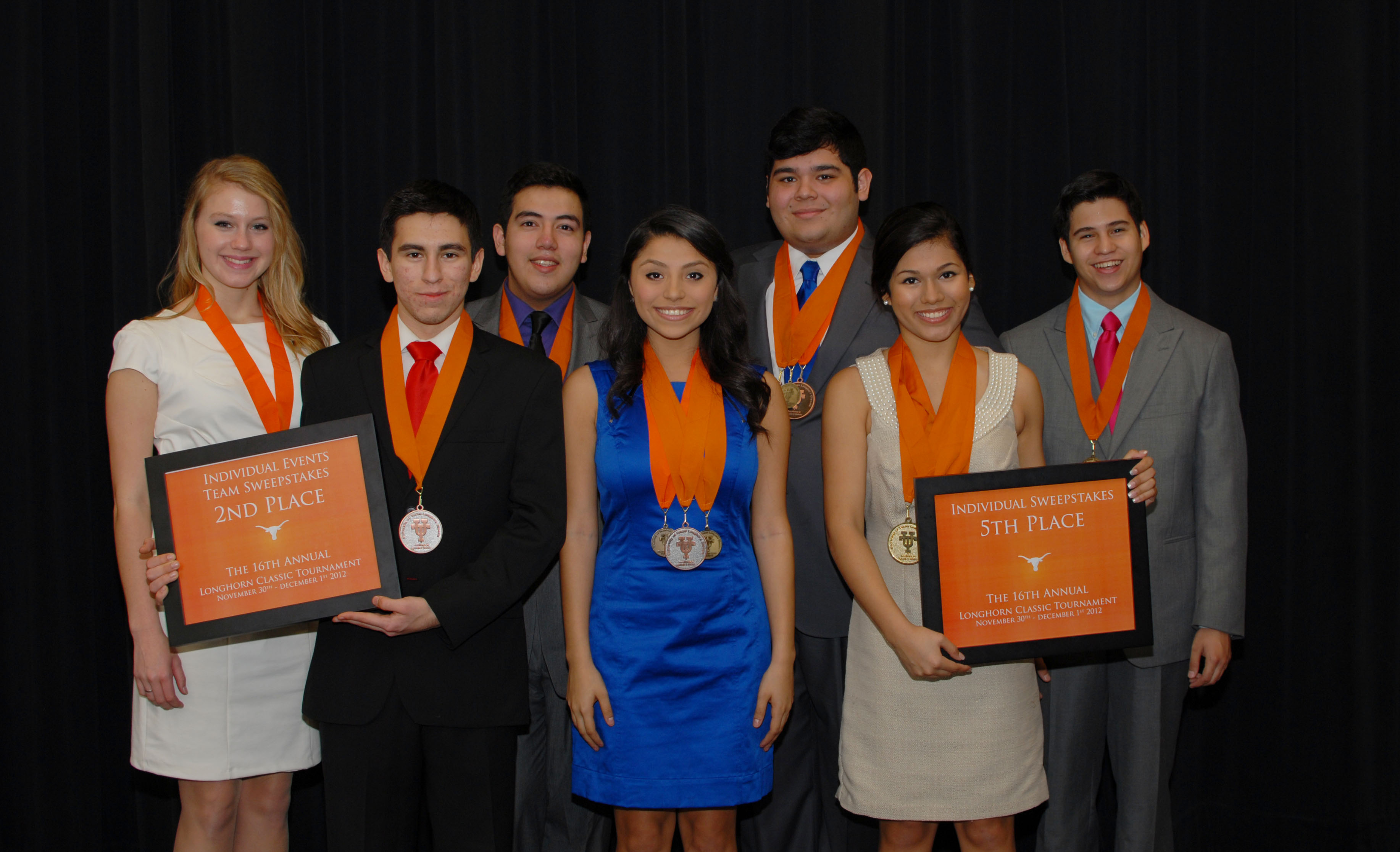 Harlingen High School South Speech, Drama and Debate Team ranked first in state