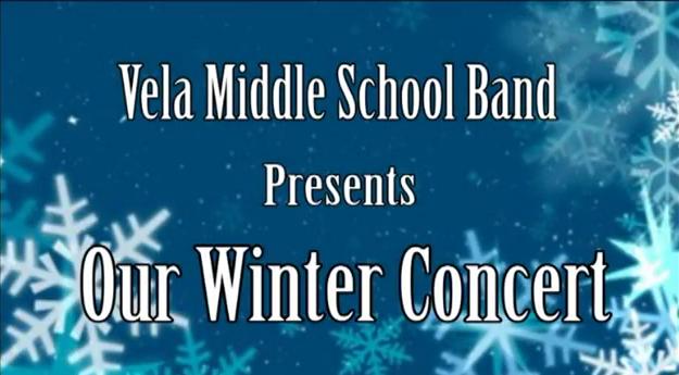 Vela Band 2012 Christmas Concert