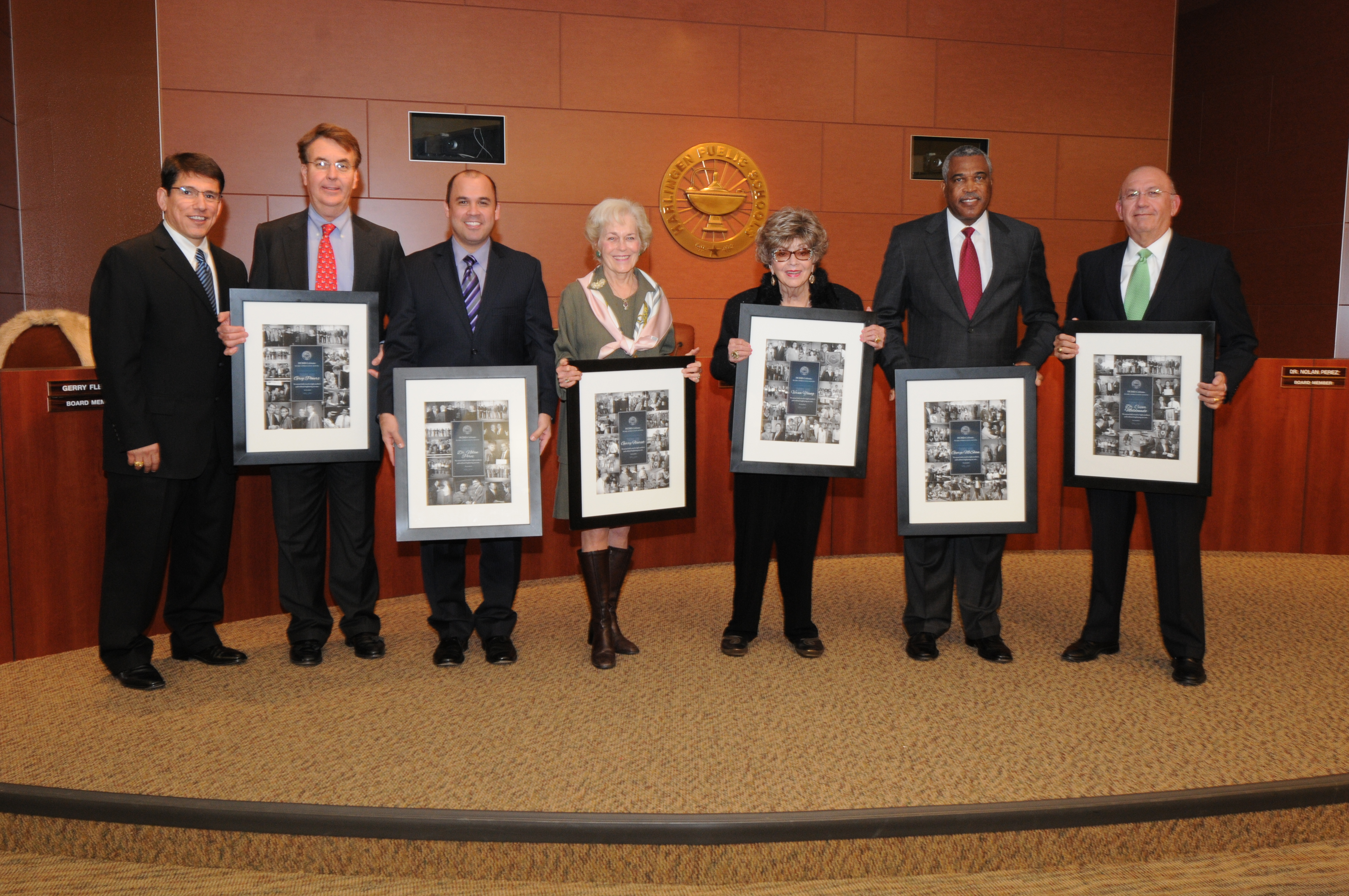 HCISD celebrates Board Recognition Month