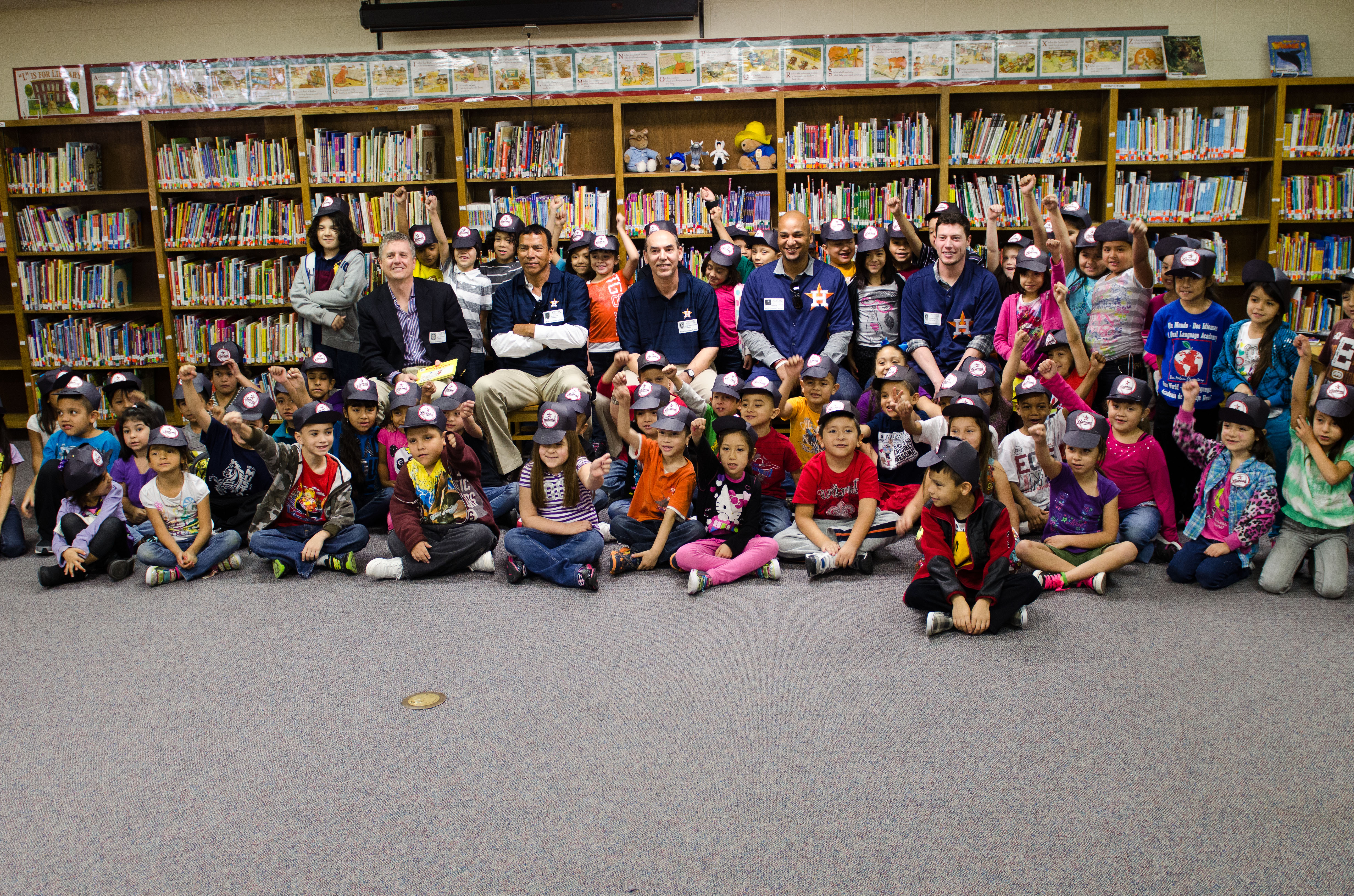Ben Milam welcomes Houston Astros for day of reading