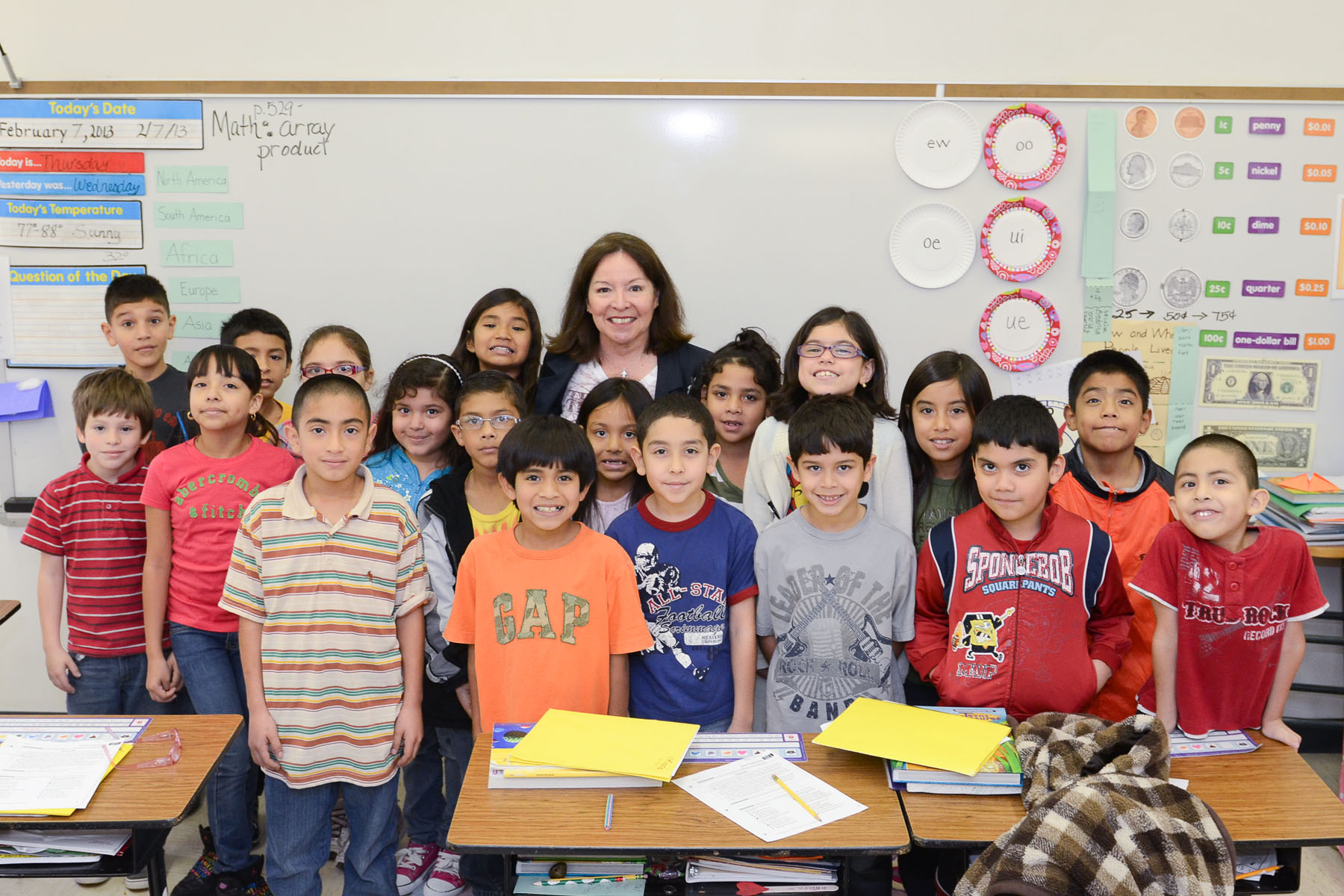 Sam Houston teacher helps change future of Texas Public Education