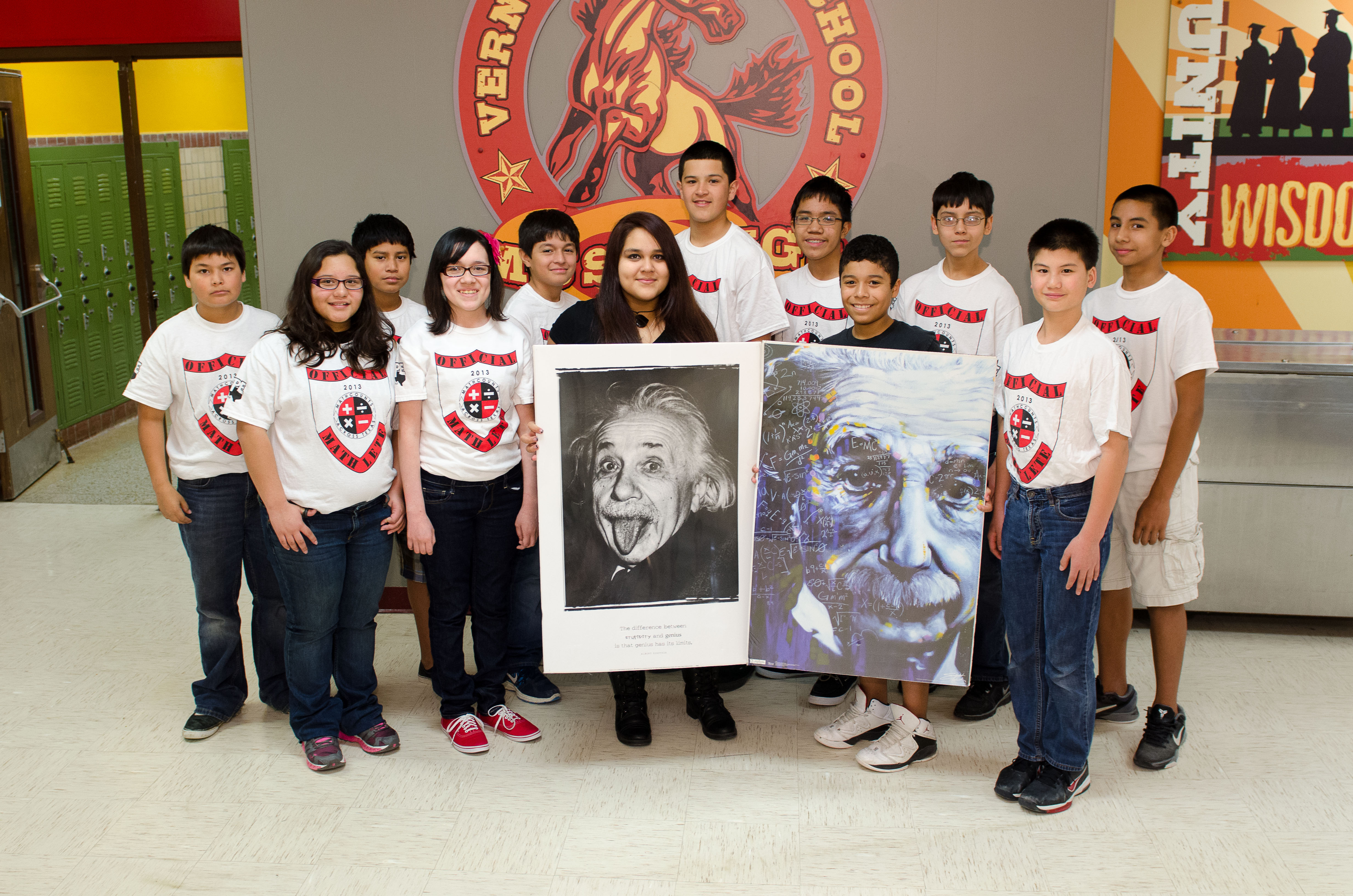 Vernon Middle School students show off problem solving skills at MathCounts competition