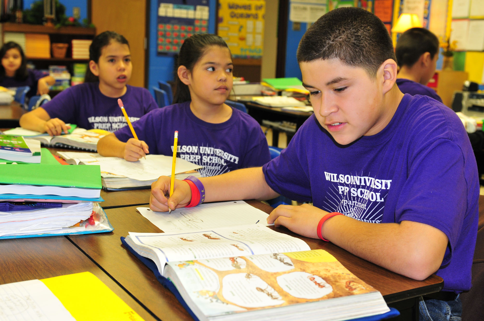 Wilson Elementary students get college and career ready in the classroom