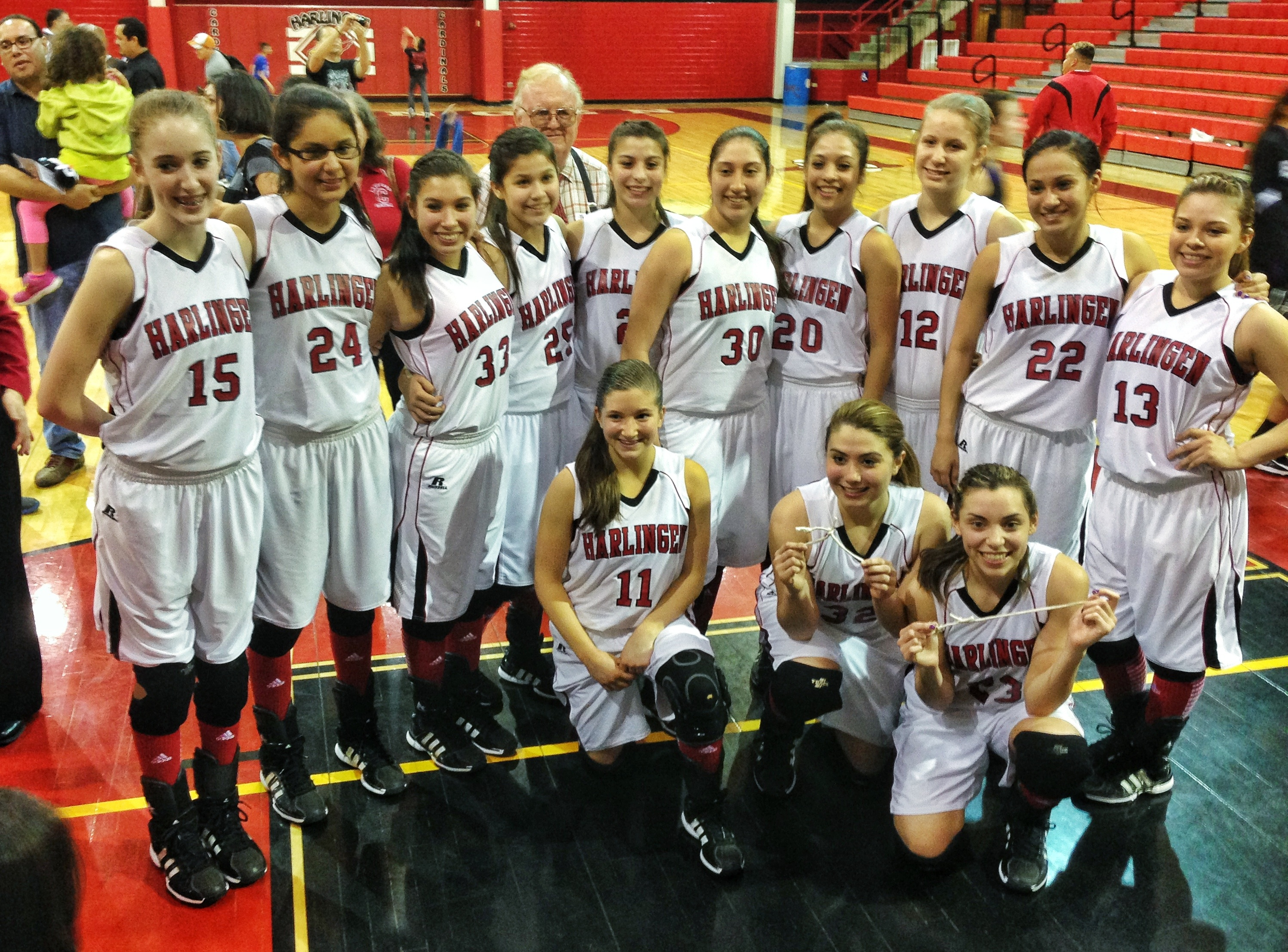 Lady Cardinals named Bi-District Champions