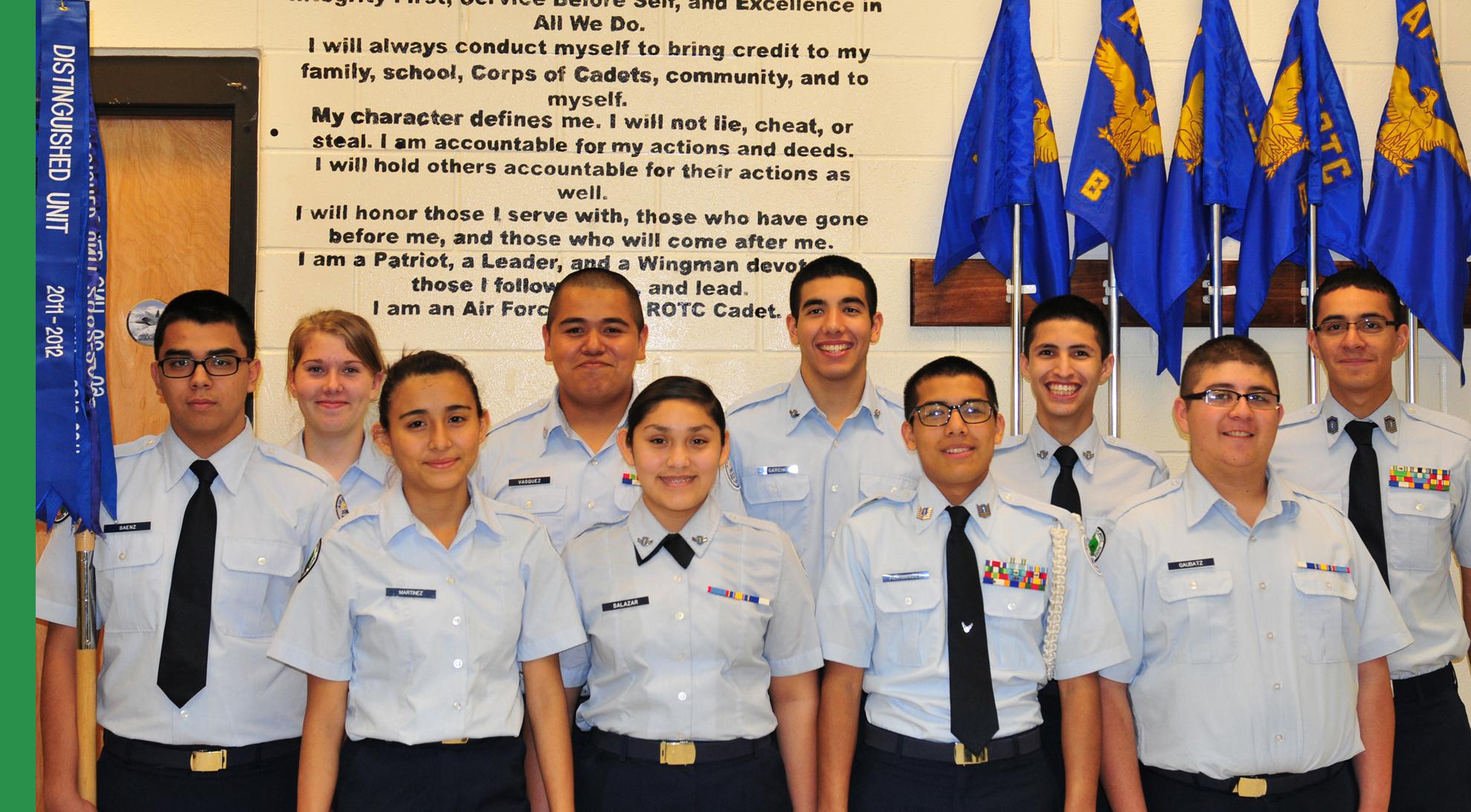 HHSS JROTC program Exceeds Standards